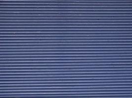 Blue Corrugated steel photo