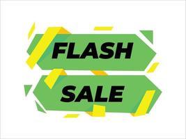 diseño de venta flash, venta flash, descuento, diseño publicitario, diseño de promoción vector