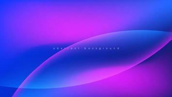 abstract background with gradient blue bubble vector