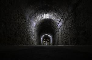 Old train tunnel photo