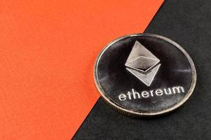 ethereum is a modern way of exchange and this crypto currency is a convenient means of payment in the financial photo
