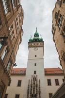 View of old town city hall in brno photo