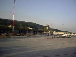 RHODOS, GREECE - SEPTEMBER 19, 2021 Diagoras airport RHO photo