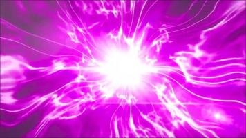 purple light Aura smoke background loop animation video