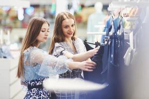 Clothes Shop Costume Dress Fashion Store Style Concept photo