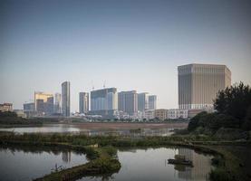 macao, china, 2021 - cotai strip casino resorts foto