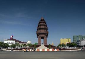 Phnom Penh, Cambodia, 2021 - Independence monument landmark photo
