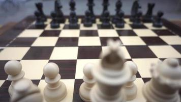 Chessboard with Chess Figures Chess Game video