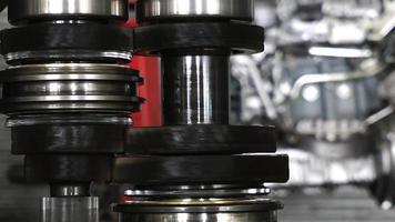 Car Transmission Gears on Workshop video