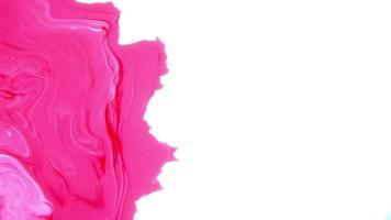Color Liquid Paints Moving And Mixing video