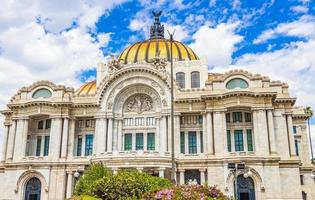 The Palace of Fine Arts in Mexico City, Mexico photo