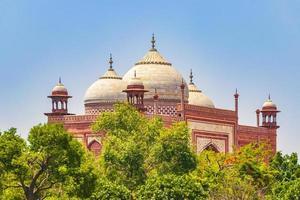 Taj Mahal Mahal Kau Ban Mosque Agra Uttar Pradesh India. photo