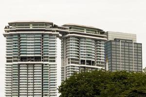 Huge skyscraper big building in Kuala Lumpur, Malaysia photo