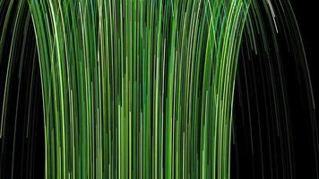 green stroke lines Background loop Animation video