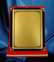 Plaque samples for championship, achievement and commemorative. photo