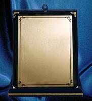 Plaque samples for championship, achievement and commemorative photo