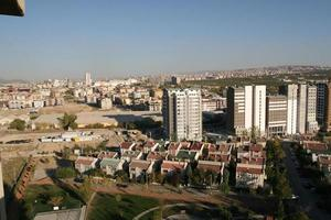 The capital of Turkey the biggest construction made in Ankara photo