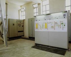 molino harinero y maquinaria utilizada en la producción foto