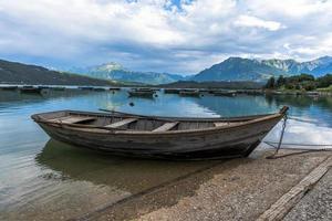 2021 07 18 Lago Di Santa Croce boats at the lake 2 photo
