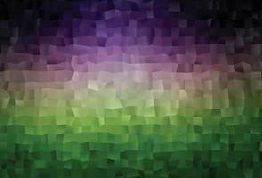 Dark Pink, Green vector blurry triangle pattern.