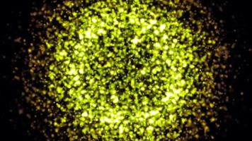 particle background loop animation video