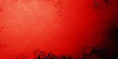 fondo rojo de miedo. concreto oscuro grunge textura roja foto