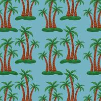 Pattern web pattern palm trees background texture - Vector