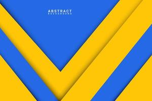Abstract Background Blue and Yellow Overlap Layer vector