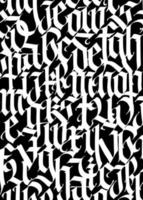 Medieval Gothic pattern vector