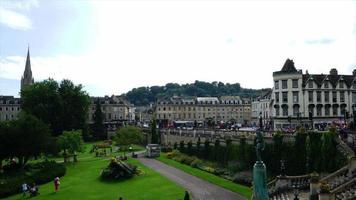 timelapse Bath City in England, UK video