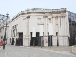 La National Gallery en Trafalgar Square, Londres, Reino Unido. foto