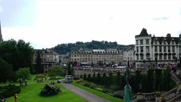 timelapse Bath City in Uk video