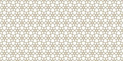 Floral seamless pattern in oriental style, delicate ornament, beige and white texture vector