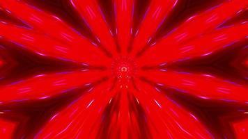 vermelho azul caleidoscópio mandala rápido rápido flash motion background video