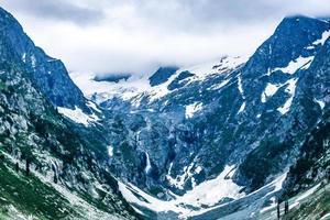valle de kumrat hermoso jazz banda paisaje vista de las montañas foto