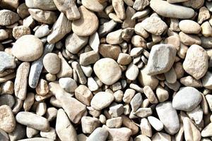 little stones texture photo