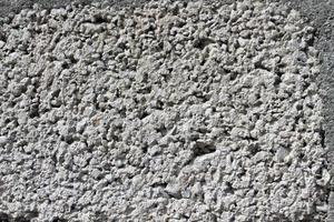 textura de la pared de bloques de hormigón foto