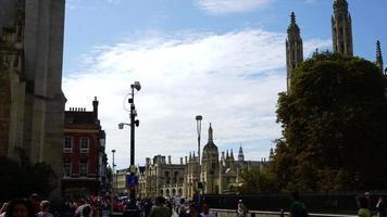 timelapse Cambridge City in UK video