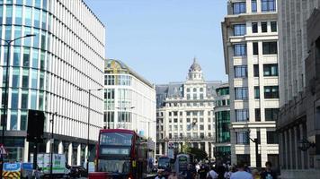timelapse London City in England, UK video