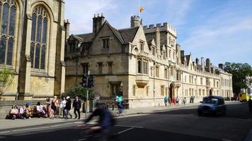 timelapse Oxford City in UK video