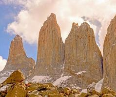 Dramatic Spires into the Clouds photo