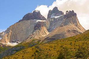 Dramatic Peaks in The Patagonian Andes photo