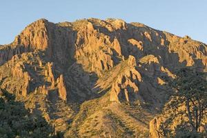 Evening Shadows in the Desert Peaks photo