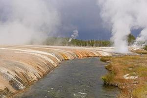 Dark Skies over Yellowstone photo