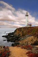 Lighthouse Along the Coast photo
