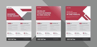 flyer design templates. business corporate flyer design ideas. poster leaflet brochure design ideas. bundle, a4 template, brochure design, cover, flyer, poster, print-ready vector