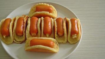 pancake roll with sausage video