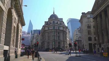 London City in England, UK video