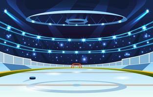 Ice Hockey Sport Arena Stadium vector