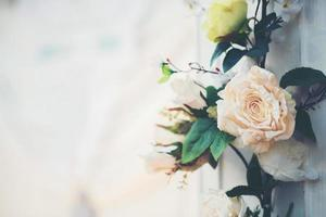 Flower in wedding event photo